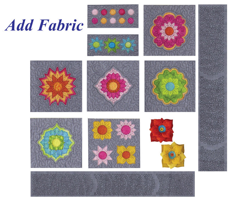 Stipple Fabulous Flowers & Medallions