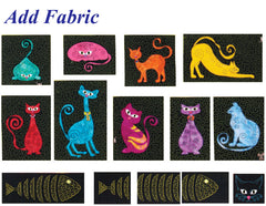 Stipple! Sassy Cats