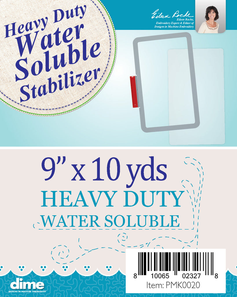 "Heavy Duty Water Soluble Stabilizer 9"" x 10 yards"