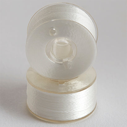 Exquisite Style L Polyester Prewound Bobbins Plastic Sides