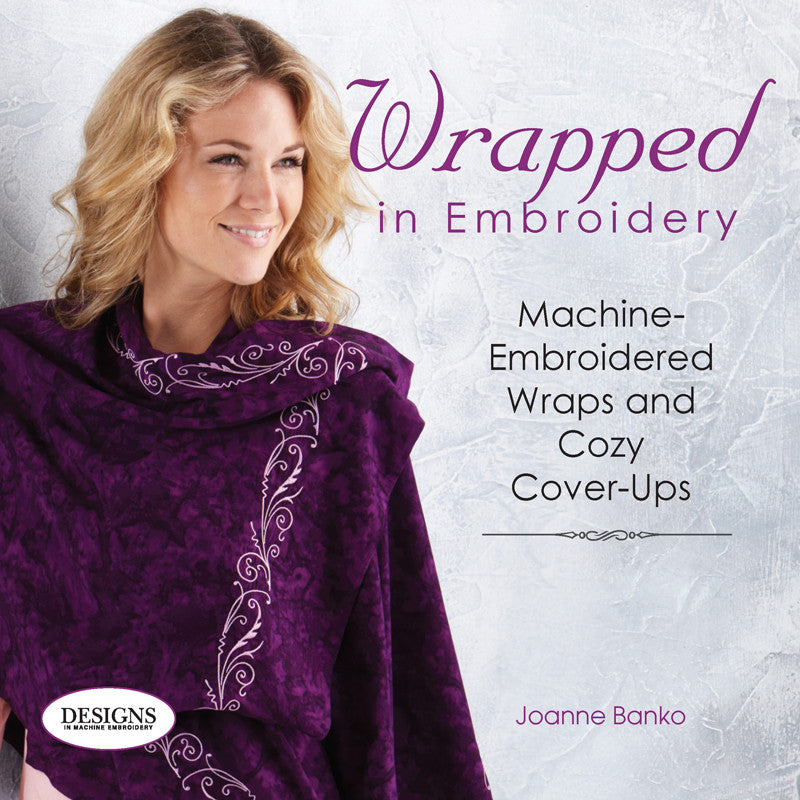 Wrapped in Embroidery by Joanne Banko