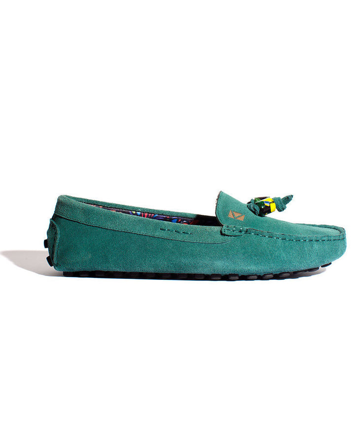 Premier Loafers- Turquoise