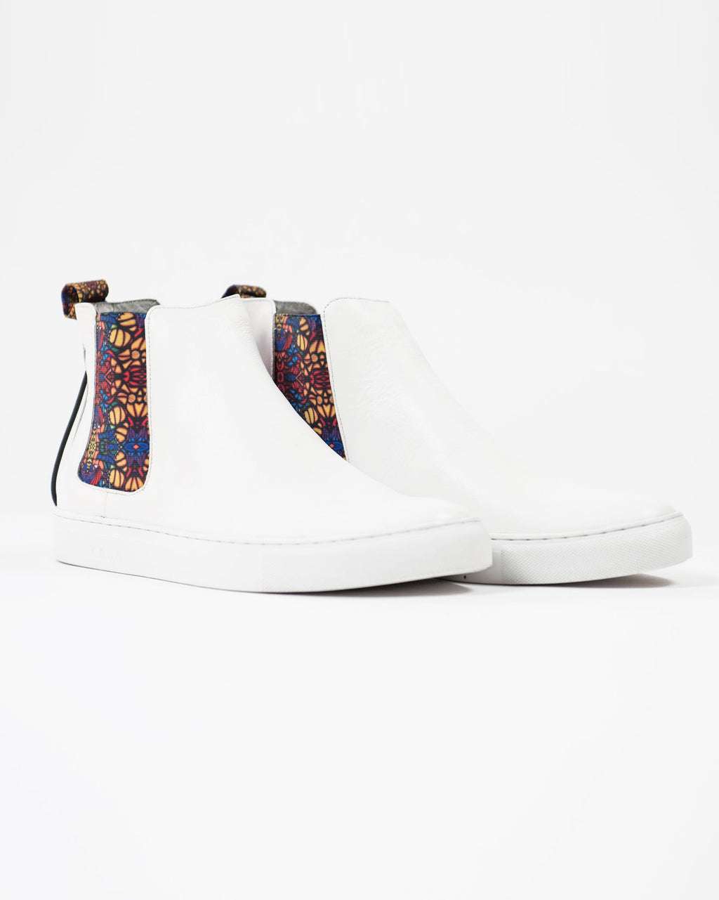 Hilaire Chelsea Sneakers- White