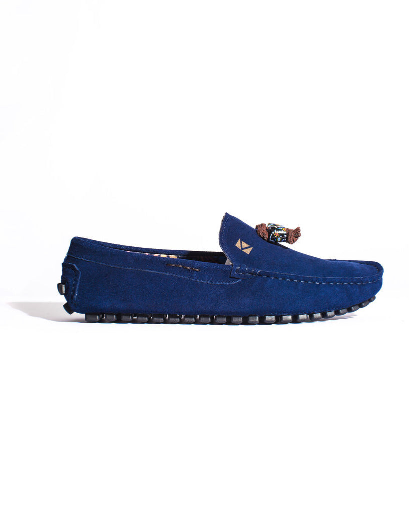 Premier Loafer- Navy Blue