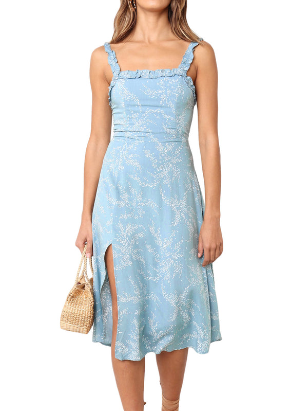 Blue Layla Mid Dress
