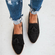 Ladies Fashion Tassel Flat Slippers