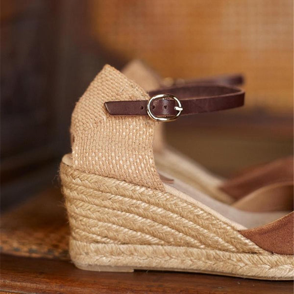 Summer Fashion Wedge Buckle Sandals