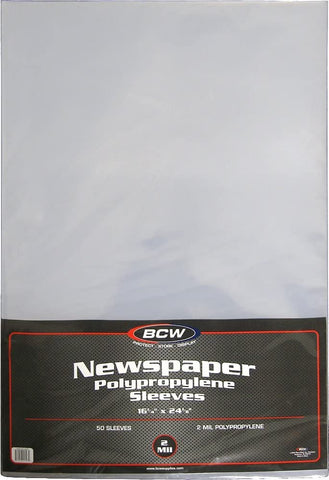 Newspaper Sleeves - 16 x 24