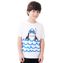 Load image into Gallery viewer, Kids Boy Shark Short Sleeve T Shirt
