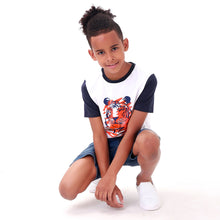 Load image into Gallery viewer, Kids Boy Tiger Short Sleeve T Shirt