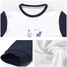 Load image into Gallery viewer, Boys Bear Pattern Long Sleeve Tops Tee Clothes