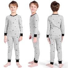 Load image into Gallery viewer, TaiMoon Boys Dinosaur Long Sleeve Cotton Pajama Set 6 To14 Years Old