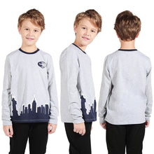 Load image into Gallery viewer, New York City Night Kids Boy Long Sleeve Tops Tee Blouses Clothes