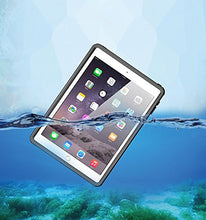 Load image into Gallery viewer, iPad Pro 9.7/iPad Air 2 Waterproof case, AICase Water Resistant IP68 360 Degree All Round Protective Ultra SlimDust/Snow Proof with Lanyard for Apple iPad Pro 9.7'' 2016/iPad Air 2 9.7 Inch 2014