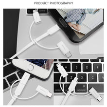 Load image into Gallery viewer, AICase USB Multi Charging Cable, 2.1A Current 3.3ft TPE Material,3 in 1 Multiple USB Cable Fast Charging Cord Support Data Transfer Compatible Mobile Phones Tablets and More