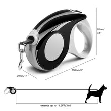 Load image into Gallery viewer, AICase Retractable Dog Leash [10FT/16FT] Suitable for Dog Weight Below [12kg/25 lbs] Tangle-Free Heavy Duty One Button Break & Lock Tape