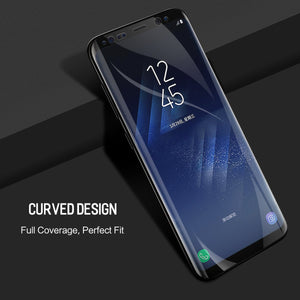 Galaxy S9 Plus Screen Protector, AICase Aqua HYDROGEL Flex Film HD Ultra Clear Full Coverage Case Friendly High Sensitivity Anti Fingerprint Screen Cover for Samsung Galaxy S9 Plus