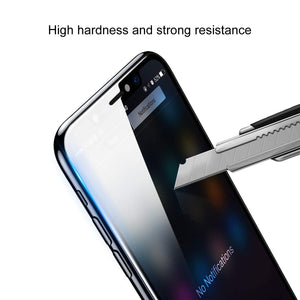 iPhone Xs Plus 6.5'' 2018 Screen Protector [Front + Back], AICase Tempered Glass Front and Back Anti Scratch/Anti-Fingerprint HD Transparent 9H Toughened Glass Film Full Coverage for iPhone Xs Plus