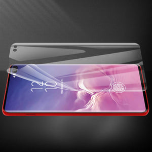AICase Screen Protector for Galaxy S10 Plus,0.125mm [Soft Curved Film ][HD Clear] [Case Friendly][FullCoverage] [Bubble-Free][Anti Fingerprint] Screen Cover for Samsung Galaxy S10+