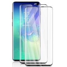 Load image into Gallery viewer, AICase Screen Protector for Galaxy S10,Black 0.25mm [Soft Curved Film ][HD Clear] [Case Friendly][FullCoverage] [Bubble-Free][Anti Fingerprint] Screen Cover for Samsung Galaxy S10