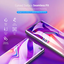 Load image into Gallery viewer, AICase Screen Protector for Galaxy S10 Plus, AICase [Soft Hydrogel Aqua Flex ][HD Ultra Clear] [Case Friendly][Full Screen Coverage] Anti Fingerprint Screen Cover for Samsung Galaxy S10+