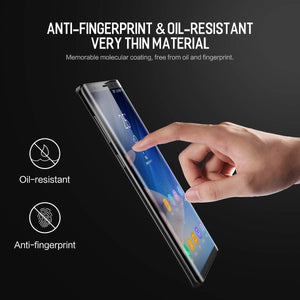 Galaxy Note 9/Note 8 Screen Protector, AICase [Soft Hydrogel Aqua Flex ][HD Ultra Clear] [Case Friendly][Full Screen Coverage] Anti Fingerprint Screen Cover for Samsung Galaxy Note 9/Note 8 (1 PC)