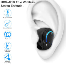 Load image into Gallery viewer, Mini TWS Bluetooth Wireless Earphones, AICase Stereo Headphone, Wireless Earbuds with Charging Case, Bluetooth 4.2 Dual in-Ear Mini Earbuds Long Standby Time Headset for Smartphones