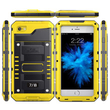 Load image into Gallery viewer, iPhone 7 Plus/ 8 Plus Waterproof Case, AICase IP68 Underwater Heavy Duty Cover [Full Body Protective] Metal Shockproof Shell with Built in Screen Protector for iPhone 7 Plus/ 8 Plus