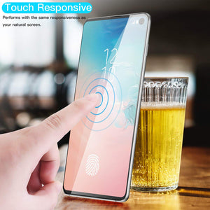 Screen Protector for Samsung Galaxy S10 E (2019),AICase0.12mm [Soft TPU ][Compatible with in-Display Finger] [Case Friendly][Full Screen Coverage] Anti Fingerprint Screen Cover for Samsung Galaxy S10 E