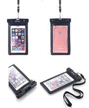 Load image into Gallery viewer, Waterproof Case Universal Dry Bag Pouch & Neck Strap for All Smartphones