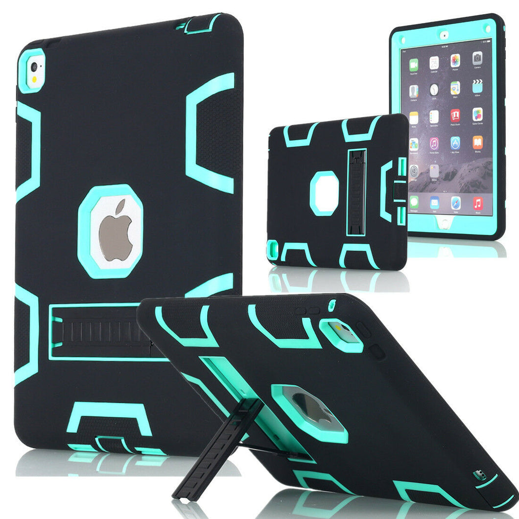 Heavy Duty Hybrid Shockproof Hard Case Cover Rubber Stand For iPad Pro 12.9