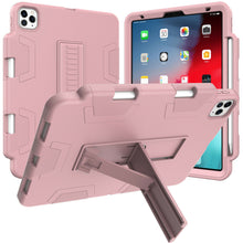 Load image into Gallery viewer, iPad Pro 11 Inch Hybrid Rubber Shockproof Heavy Duty Stand Cover