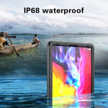 Load image into Gallery viewer, Waterproof Case,with Built-in Screen Protector Dustproof Submersible Full-Body Cover for 2020 iPad Pro 12.9