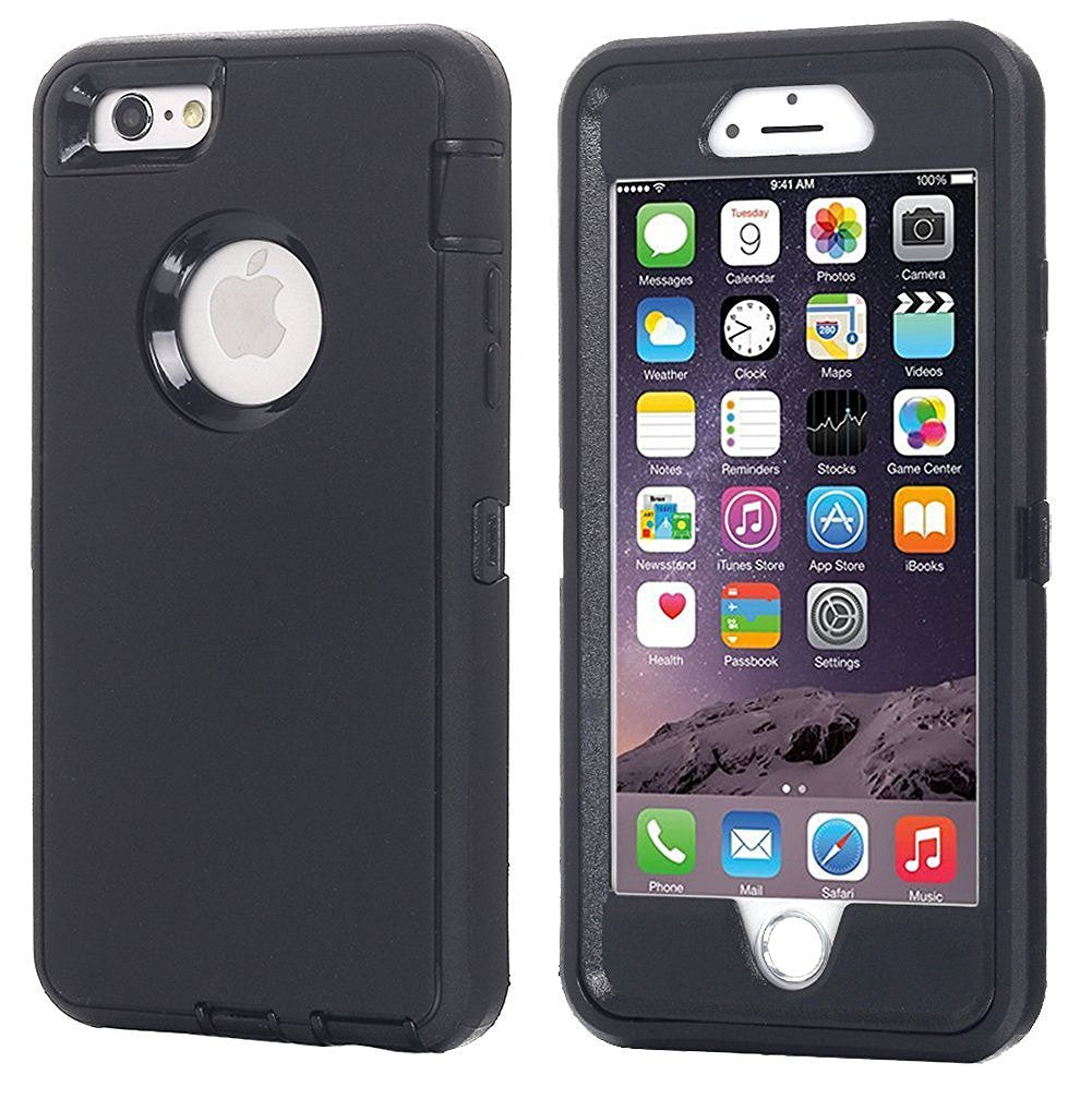 AICase Heavy Duty Tough 3 in 1 Rugged Shockproof Case for iPhone 6/6s/6+/7/7+/8/8+