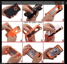 Load image into Gallery viewer, AICase Heavy Duty Tough 3 in 1 Rugged Shockproof Case for iPhone 7+/8+ Plus