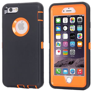 AICase Heavy Duty Tough 3 in 1 Rugged Shockproof Case for iPhone 7+/8+ Plus