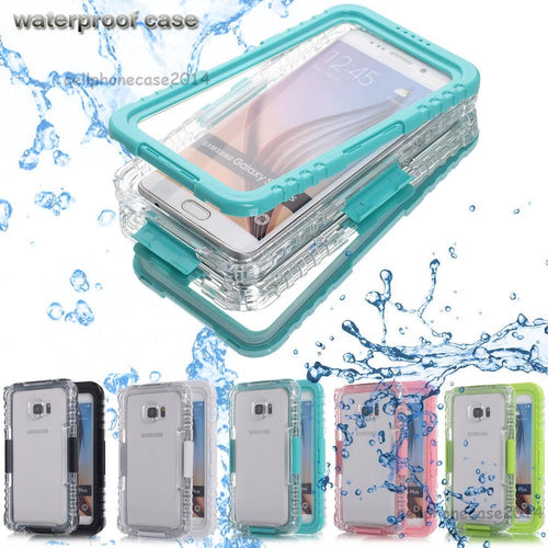 Thin Waterproof Shockproof Hard Case Cover  for Samsung Galaxy