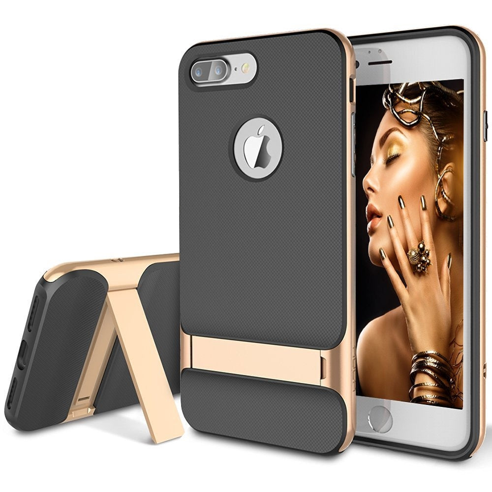 Rock iPhone 7+ Plus Anti-scratch Protection Ultra Thin  Kickstand Case Cover