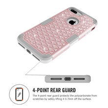 Load image into Gallery viewer, Galaxy S8/S8+ Diamond Bling Rhinestone Shine Full Body 360 Degree Protective Case