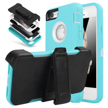 Load image into Gallery viewer, iPhone 6/6s Heavy Duty  Shockproof Dirtproof Durable Case Cover With Belt Chip