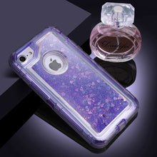 Load image into Gallery viewer, Glitter Sparkle Quicksand 3D Star Liquid Floating Bling Case