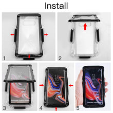 Load image into Gallery viewer, Samsung Note 9 Waterproof Crystal Clear 6M Underwater Especially for Diving Dustproof Snowproof Shockproof Full Sealed Underwater Cover