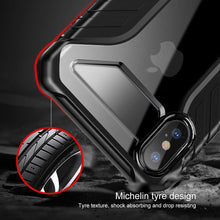 Load image into Gallery viewer, AICase iPhone XS Luxury Transparent Clear Back Air Cushion Technology and Secure Grip Drop Protection Protective Case for Apple 5.8'' iPhone XS