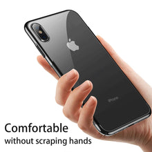 Load image into Gallery viewer, iPhone XR (2018) Clear Case, AICase Shinning Electroplating Design PC Bumper Clear Back Protective Coer Bumper for vApple 6.1'' iPhone XR 2018