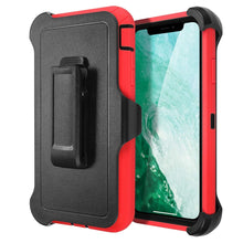 Load image into Gallery viewer, Belt Clip Shockproof 4 in 1 Rugged Shorkproof Dust Proof Cover+ Holster Belt Clip Kickstand for Apple iPhone