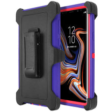 Load image into Gallery viewer, Galaxy Note 9 Shockproof Heavy Duty 3 in 1 Soft Silicone & Hard Back Cover Bumper Protective Skid-Proof Anti-Scratch Hybrid Case