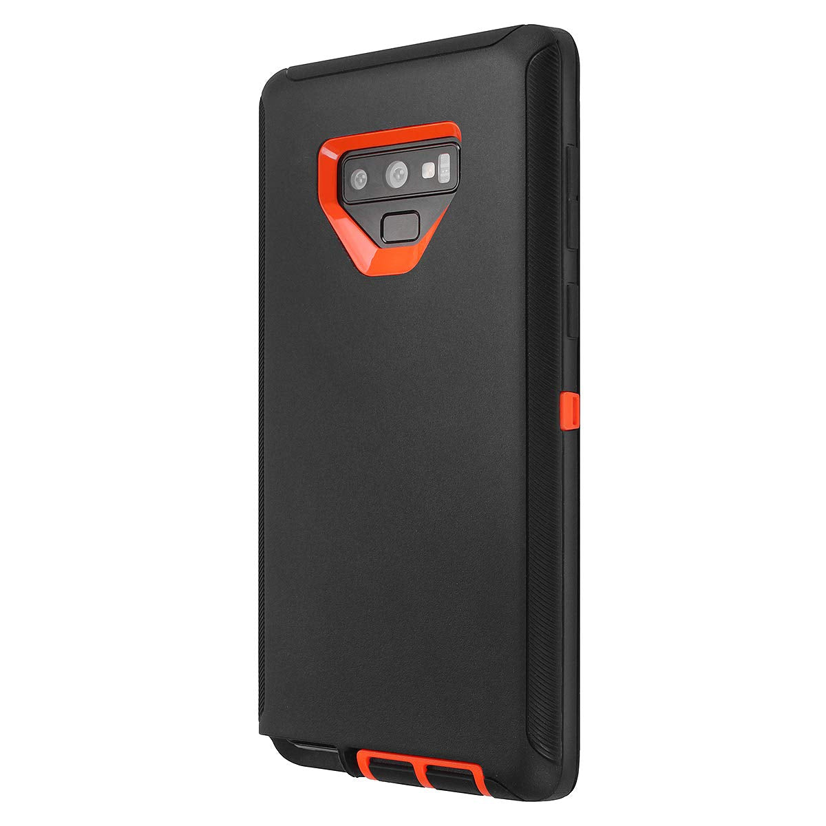 Galaxy Note 9 Schockproof Heavy Duty Tough 3 in 1 Hard PC+ Soft Silicone Impact Protection Dust Proof Full Body Protection Cover