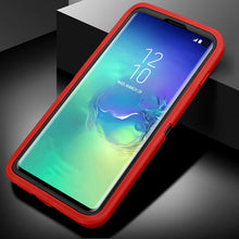 Load image into Gallery viewer, Heavy Duty 3 in 1 Scratch Resistant, Dropproof, Soft TPU+ Hard PC Hybrid Truly Shockproof Dustproof Water-Resistance Armor Protective Case