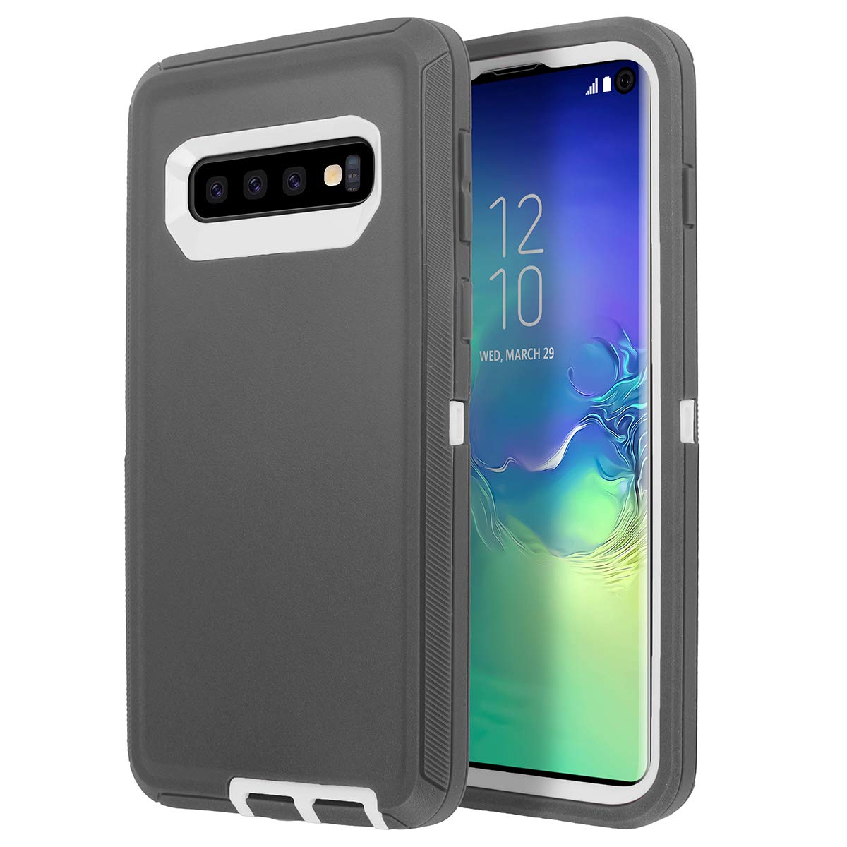 Heavy Duty 3 in 1 Scratch Resistant, Dropproof, Soft TPU+ Hard PC Hybrid Truly Shockproof Dustproof Water-Resistance Armor Protective Case
