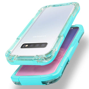 Samsung S10/S10+/S10e Waterproof Case IP68 Outdoor Underwater Protective Cover Full Body Shockproof Dustproof Dirtyproof
